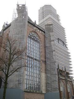 Eusebiuskerk in de steigers